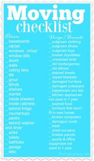 moving tips and tricks from a professional organizer printable moving checklist 183 the typical mom