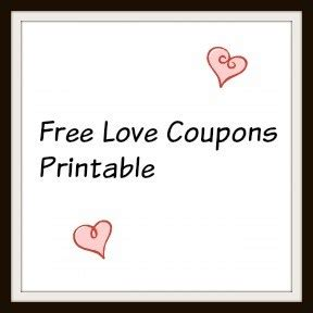 black and white printable love coupons free love coupon printables baby bugs n berries