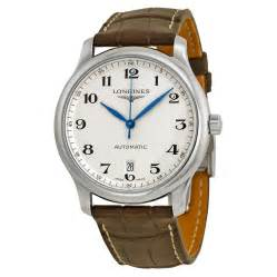 longines master collection automatic silver stainless