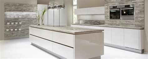 Grey Handleless Kitchen german grey gloss handleless kitchen 2 kitchenfindr