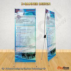 design banner promosi jasa pembuatan desain x banner untuk promosi pameran