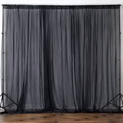 curtain booth voile backdrop 10x10 ft curtain photo booth 2 panels 5x10
