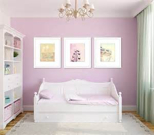 Pastel nursery decor carnival picture set toddler girl room
