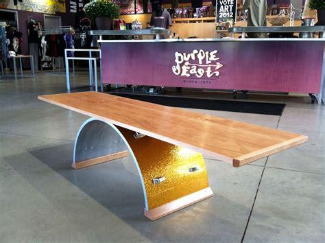 custom bass drum coffee table by leading edge custom