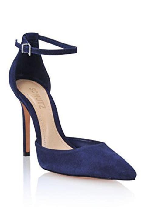 navy blue suede high heels schutz fae navy blue suede high heel ankle pointed