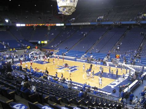section 11 e rupp arena section 28 rateyourseats com