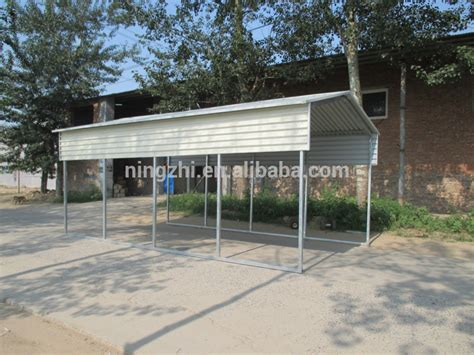 xx certified  gage vertical building diy car shelter kit metal carport buy steel