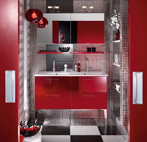 red bathroom suite 43 bright and colorful bathroom design ideas digsdigs