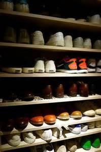 s shoe rack dressed to impress
