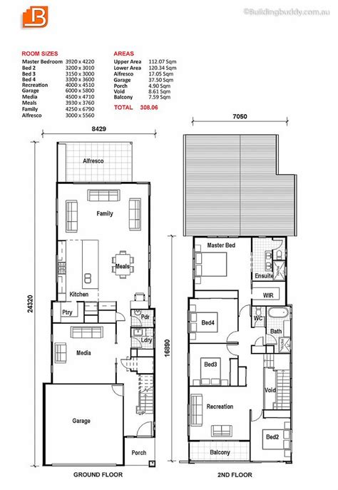 25 best ideas about narrow lot house plans on pinterest house plans for narrow lots with detached garage