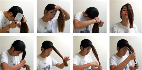step by step instructions for trimming hair a diy layered haircut how to cut your hair at home recess
