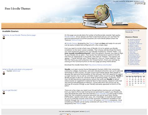 moodle theme by newschool learning free templates blog 187 moodle 187 learning horizon a good
