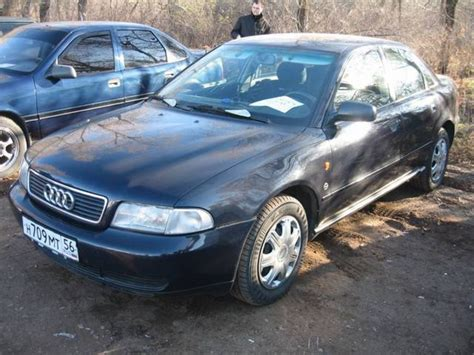 Audi A4 1995 by Used 1995 Audi A4 Pictures