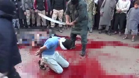 imagenes fuertes estado islamico fuertes im 193 genes s 225 dica ejecuci 243 n de sunitas sirios a
