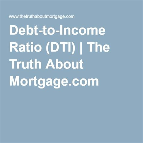 debt to income ratio for buying a house 17 best ideas about debt to income ratio on pinterest