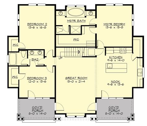 Floor Plans With No Dining Room | no formal dining room house plans pinterest