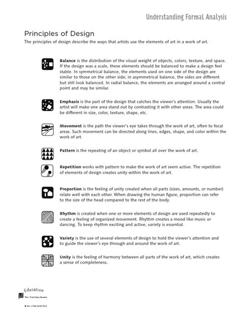 document layout design principles principles of design