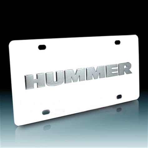 Cost Of Vanity Plates by Hummer Vanity License Plate By Dwd