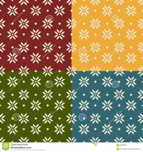 new year patterns vector set of and new year seamless patterns stock