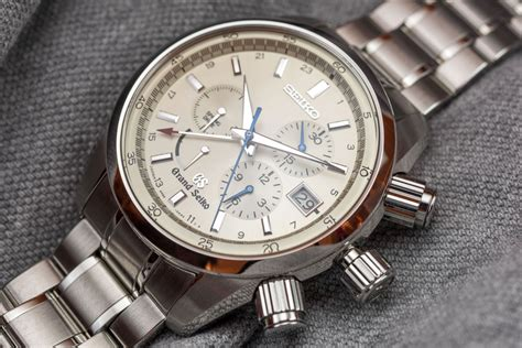 Luxury House by Grand Seiko Spring Drive Chronograph Sbgc001 Watch Replica