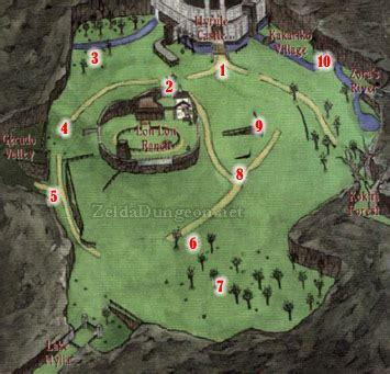 legend of zelda oot map ocarina of time big poe guide