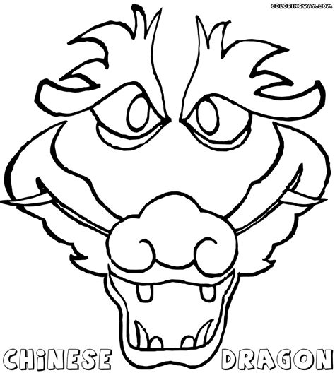 dragon dance coloring page coloring pages chinese zodiac animal coloring pages