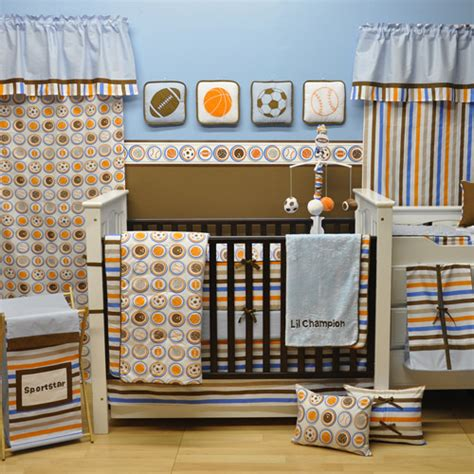 golf crib bedding bacati mod sports 12 nursery in a bag crib bedding