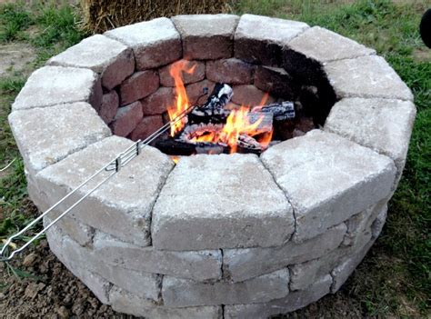 diy pit home depot fast and easy pit stones came from home depot and cost less then 100 to build home