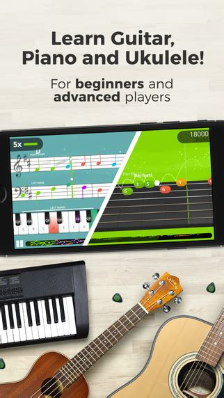 Learn Guitar Yousician | 3 free apps for learning to play an instrument