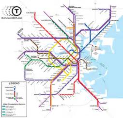 Mbta Green Line Map by Mbta Map Green Line