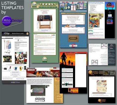 ebay store template tutorial original custom ebay store billboard profile mobile