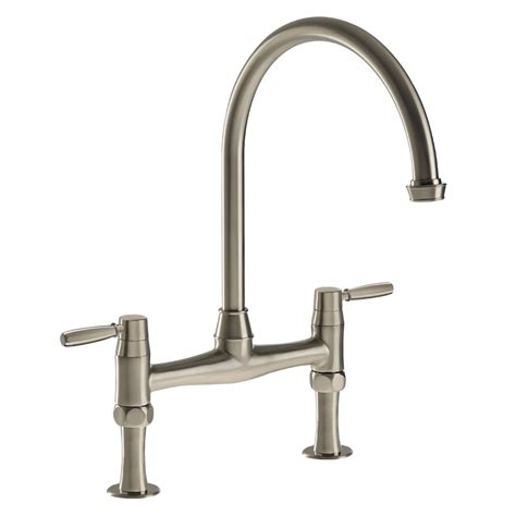 bridge taps kitchen sinks abode at3020 brompton bridge kitchen tap sinks taps com