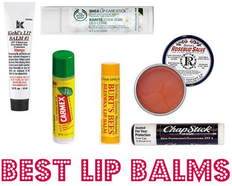 9 Of My Favorite Lip Products by 7 Ways To Treat Chapped