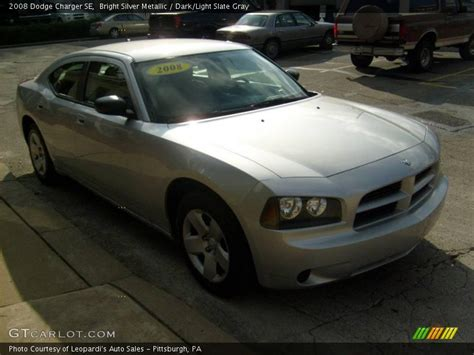 2008 silver dodge charger 2008 dodge charger se in bright silver metallic photo no