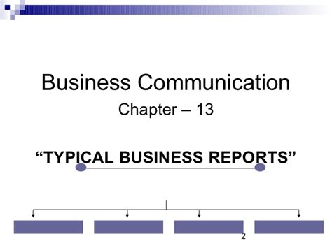 Business Letters And Reports Ppt report writing in business communication ppt