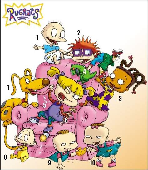 rug rat names rugrats characters by picture quiz by babycakesxoxo