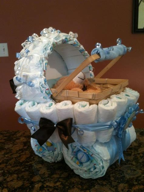 Baby Shower Carriage by Carriage Cake Cakes Centerpieces Baby Shower