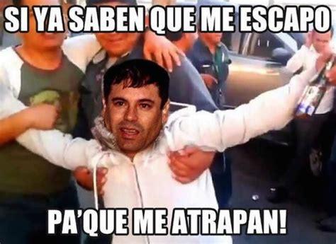imagenes virales memes se viralizan memes sobre fuga del narcotraficante el