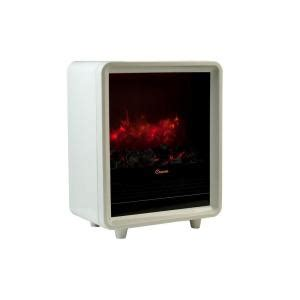 crane 1500 watt mini fireplace ceramic electric portable