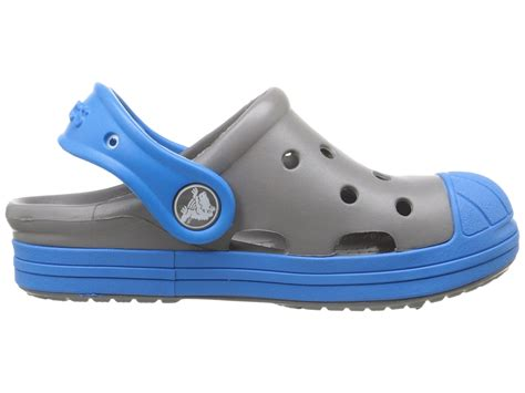 crocs clog big 6 edition crocs bump it clog kid big kid smoke