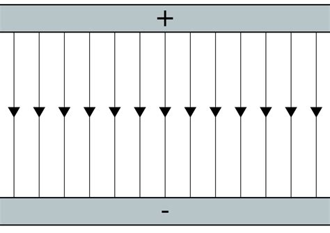 parallel plate capacitor fear file field lines parallel plates svg wikimedia commons
