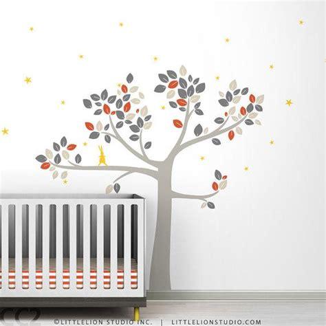 baby nursery decor tree wall decal by leolittlelion on etsy