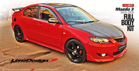 Auto Tuning Mazda 3 by Tuning Kit Mazda 3 Auto Bild Idee