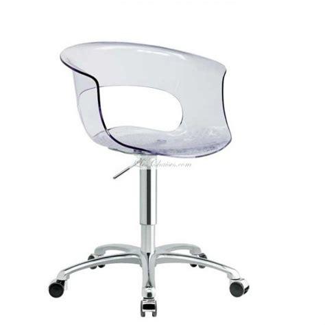 chaise de bureau transparente chaise de bureau a et chaises de bureaux design