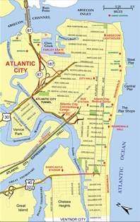 atlantic city us map atlantic city map mapsof net