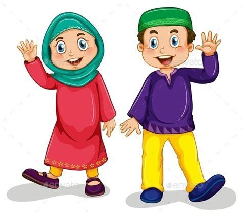 gambar wallpaper anak muslim contoh gambar kartun anak muslim gambar pedia