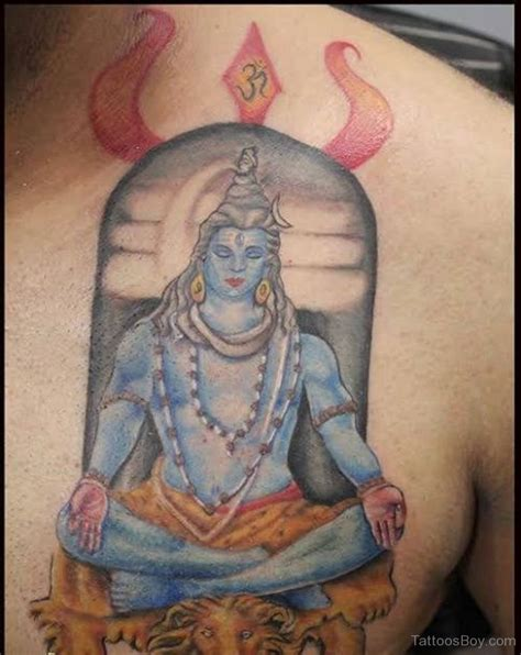 lord shiva tattoo hinduism tattoos designs pictures page 2