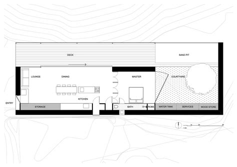 Plan Floor gallery of sawmill house archier studio 32
