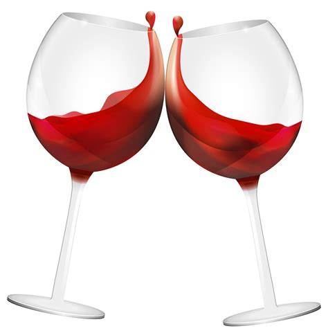 wine clipart wine glasses clipart best