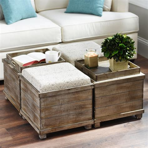 best 25 diy storage ottoman coffee table ideas on